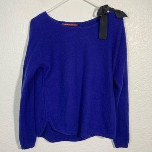 Comptoir Des Cotonniers Blue Cashmere Sweater Med